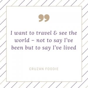 Travel Quote by Yours Truly