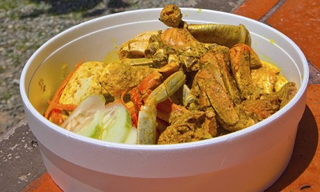 Trinidad Carnival 2016 - Curried Crab & Dumpling