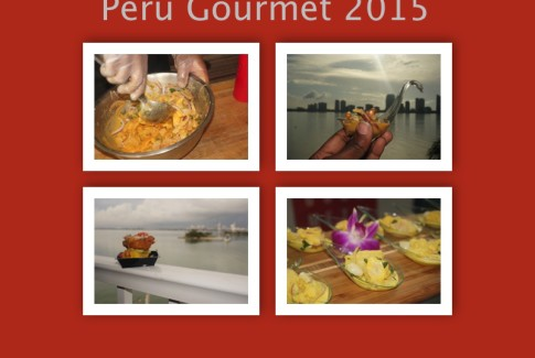 Peru Gourmet Food Collage