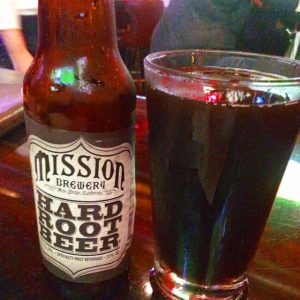 Mission Brewery Hard Root Beer