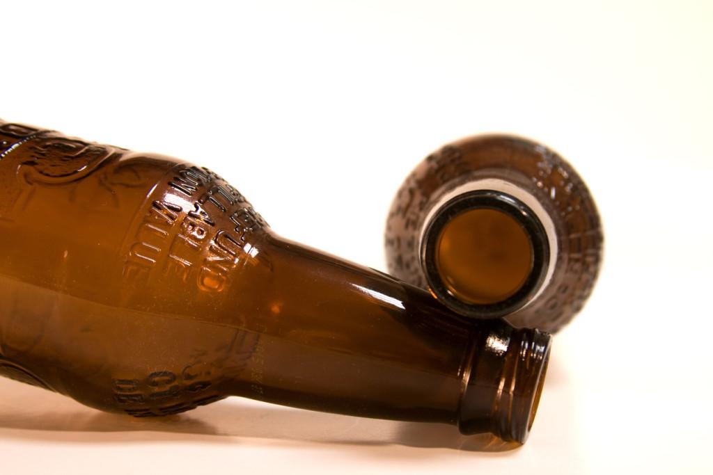 root beer bottles