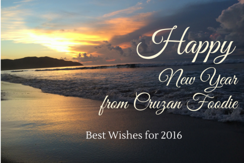 Cruzan Foodie New Years Greetings