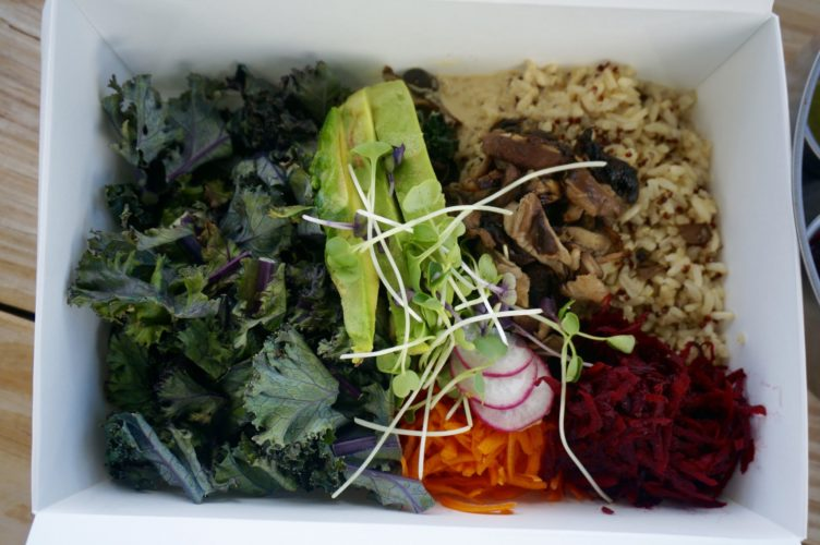 Vegan and vegetarian food on St. Croix - Ana's Living Food Truck
