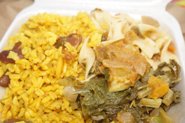 Vegan and vegtarian food on St. Croix