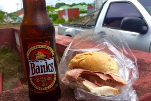 Ham Cutter in Barbados