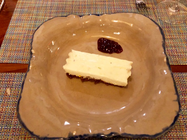 Citrus Cheesecake with Walnut Crust - Perfect Ending to a Perfect Meal