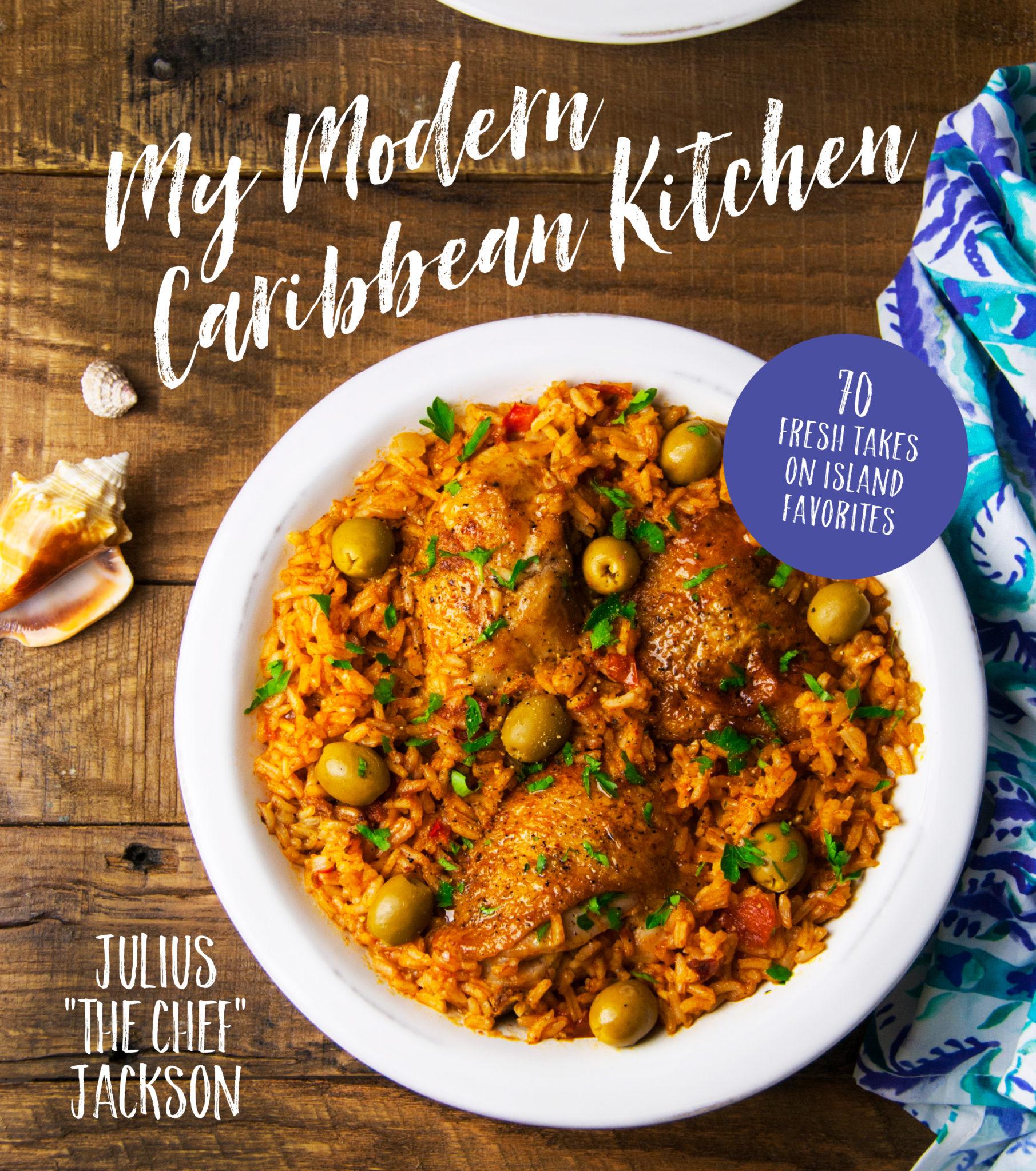 My Modern Caribbean Kitchen Cover
