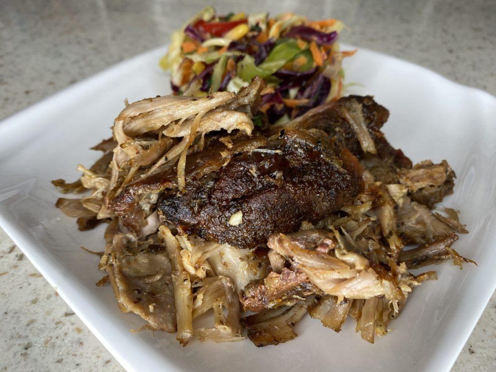Roast Pork on St. Croix